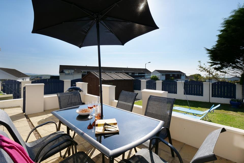 Rear garden is perfect for an al fresco drink or snack