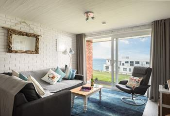 Spindrift View, Sleeps 2 + cot, Newquay.