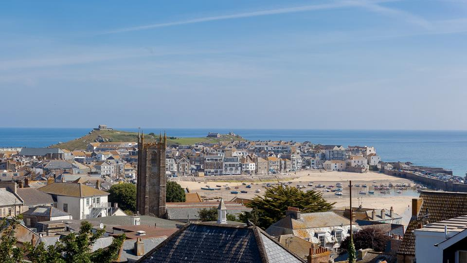 Boasting incredible views, the sea in the distance will beckon you down to the seaside.