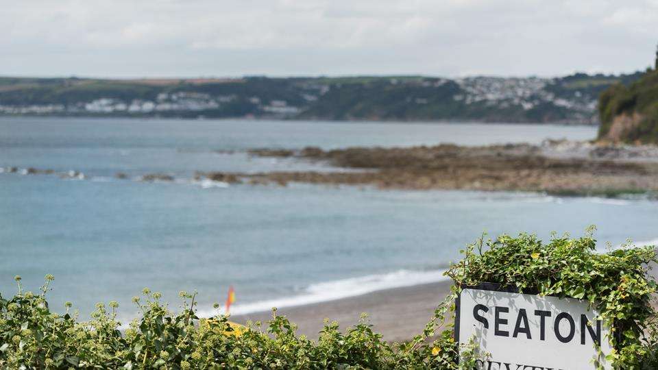 Seaton has a cosy pub, sea view bar and beachfront cafe, and is just a short walk from the property.