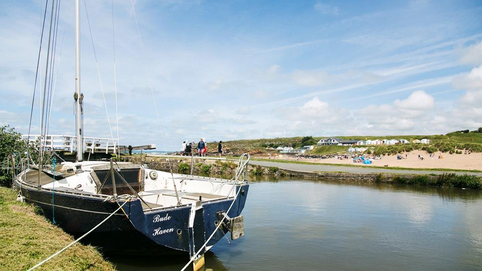 Bude Canal Wharf is always a lovely place to visit and is just over a mile away.