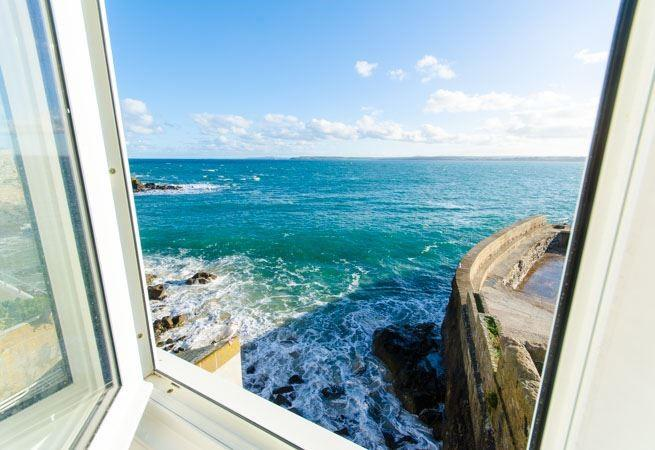 You can wake to the most amazing views at Smeaton Cottage.