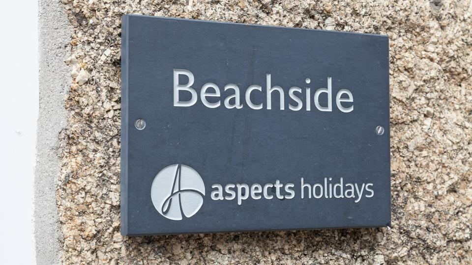 Look out for our slate sign then you'll know it's time to relax.