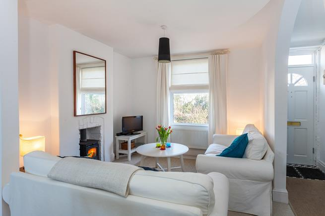 Friendly sitting room for socialising and relaxing