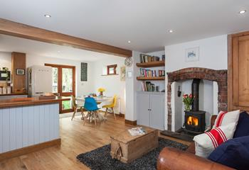 Little Penn, Sleeps 4 + cot, Bude.