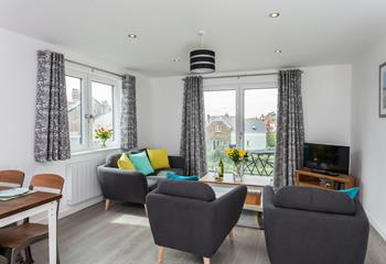 Apartment 3 Coopers Hawk, Sleeps 4 + cot, Bude.