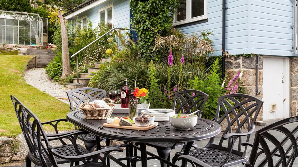 The perfect spot for al fresco dining.
