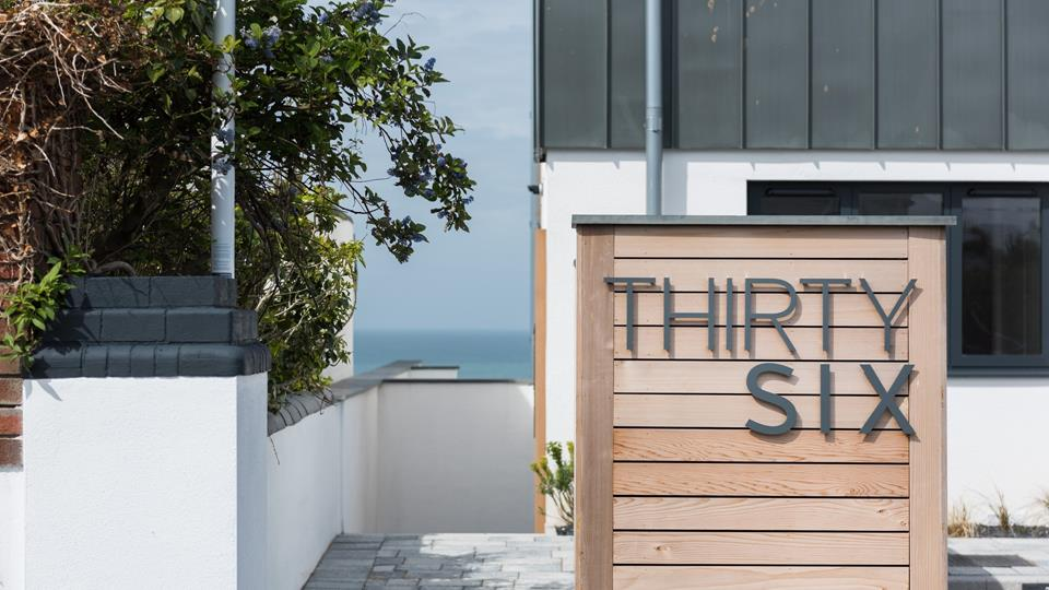 Arrive at Apartment 2, at Thirty Six and get ready to enjoy your Cornish break.