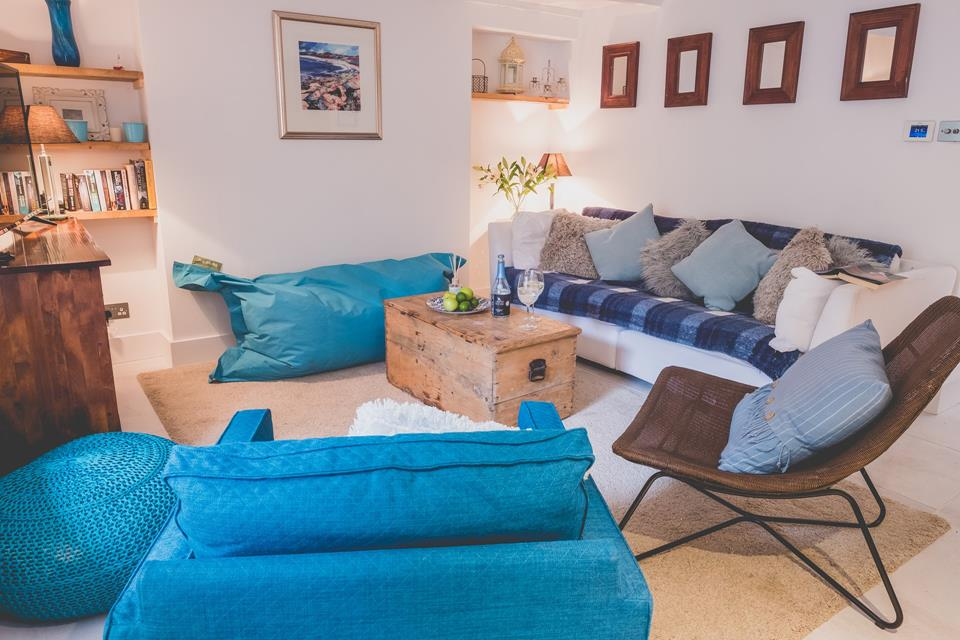 Gorgeous comfortable furnishings.