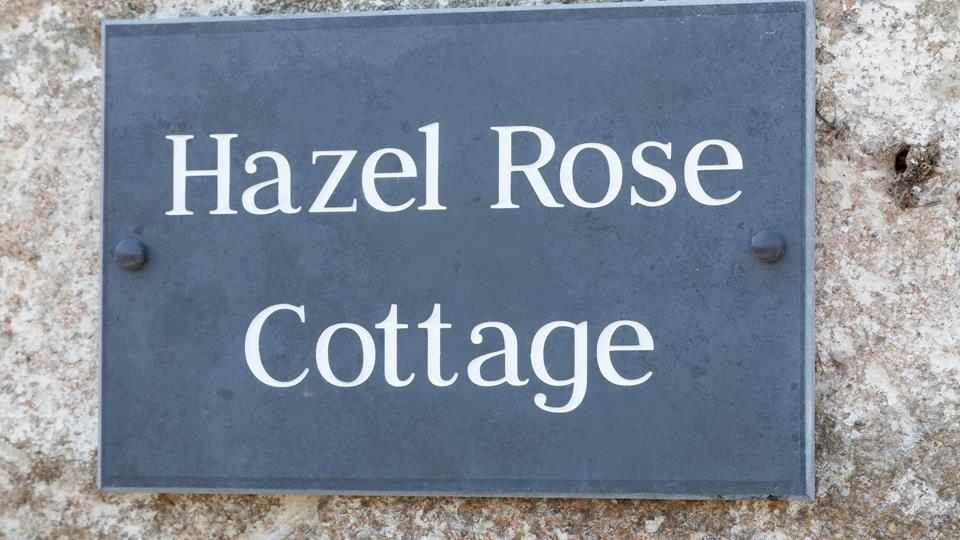 A slate sign greets you on arrival, once you see this you know it's time to relax.