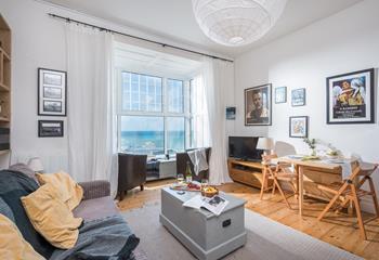 Flat 1, 9-10 Draycott Terrace in Porthminster