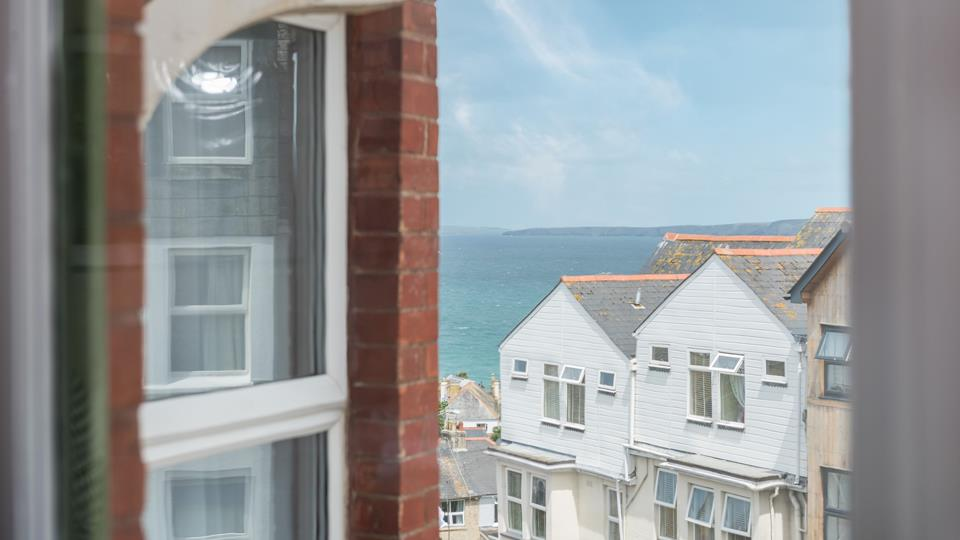 Take a moment to pause and enjoy the sea views!