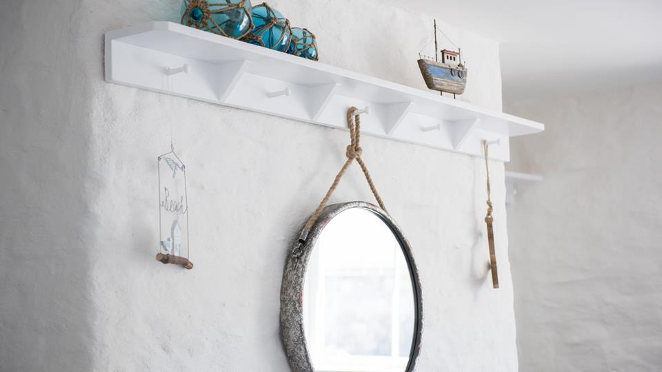 Keep an eye out for the nautical decor throughout the house.