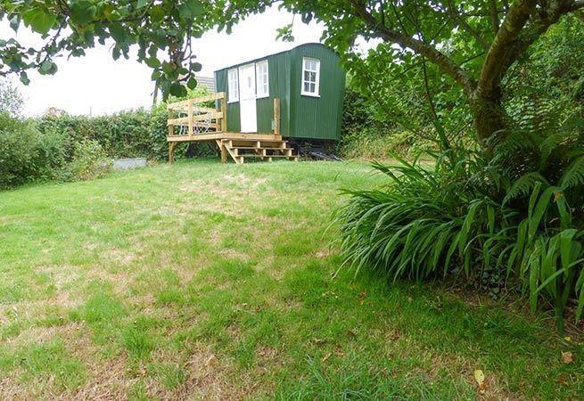 The Little Green Shepherd's Hut