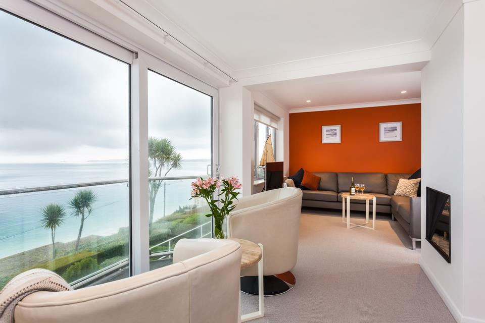 Enjoy breathtaking sea views from the apartment.