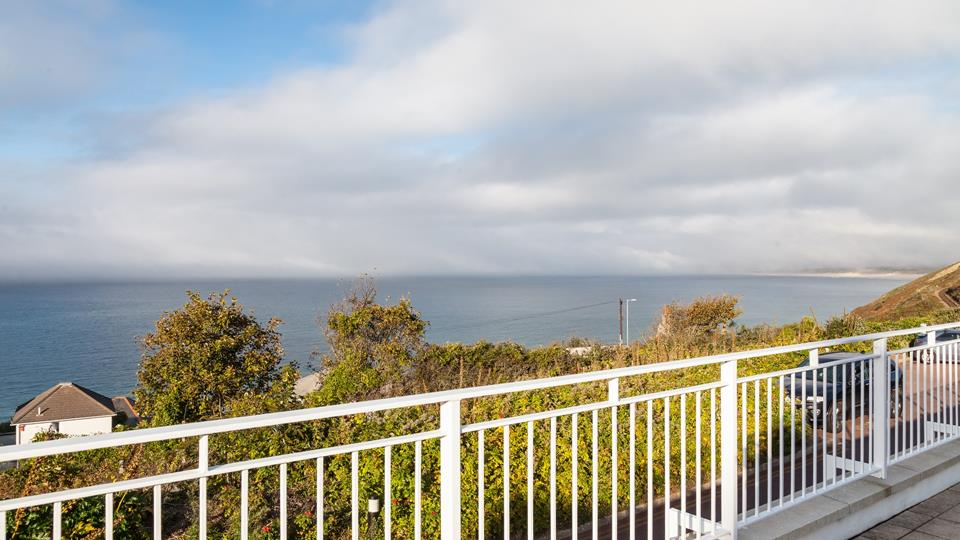 With views like these, you'll never want to leave the patio, but the beach is just moments away.