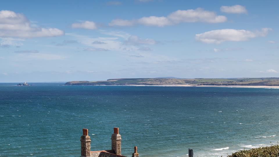 In the opposite direction, you can enjoy breathtaking views across to Godrevy Lighthouse.