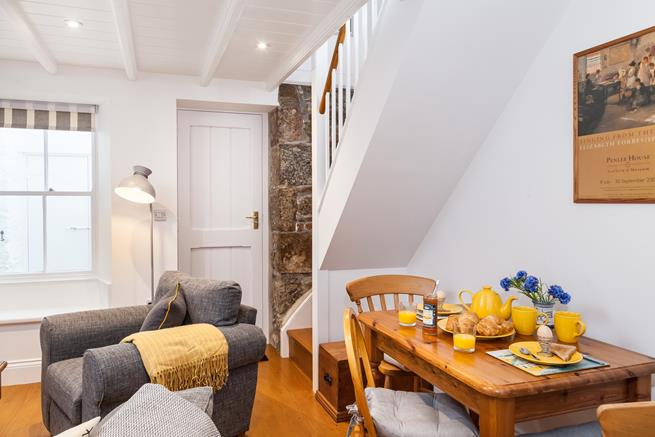 A fantastic fusion of Cornish Cottage with modern touches.