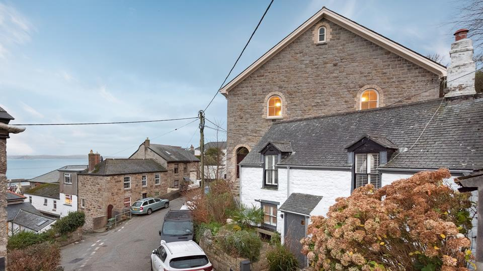 Matelots is located just a short stroll from Newlyn harbour.