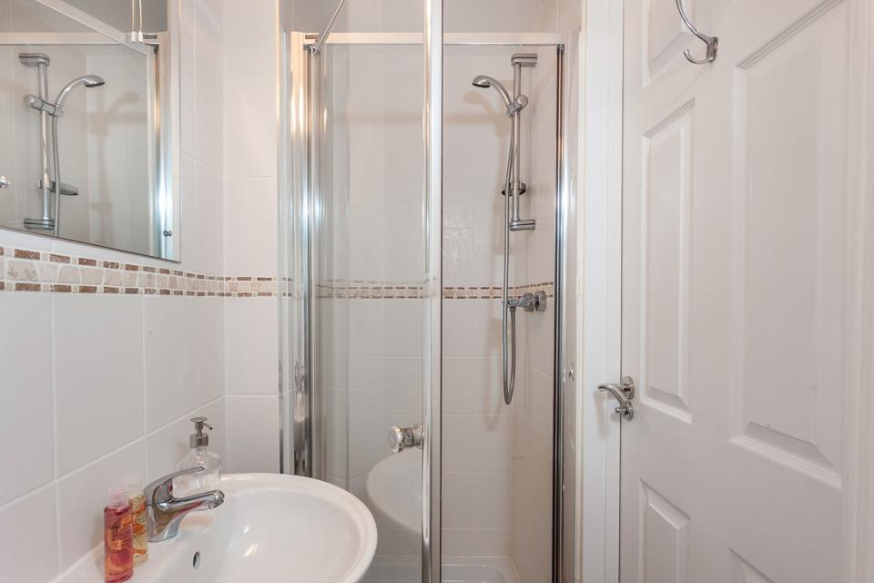 There's an additional shower room if the en suite is in use.