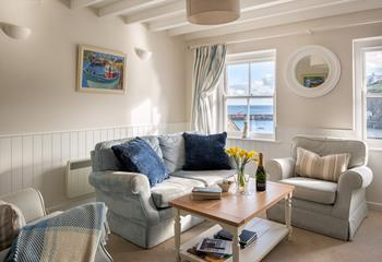 Harbour Rest, Sleeps 4 + cot, Mevagissey.