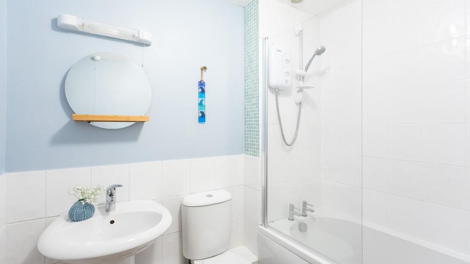 Multiple bathrooms offering the entire family plenty of space to get ready.
