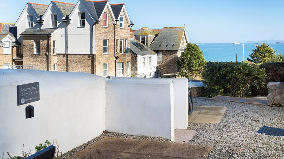 This property benefits from allocated parking, making it easy to leave the car and explore.