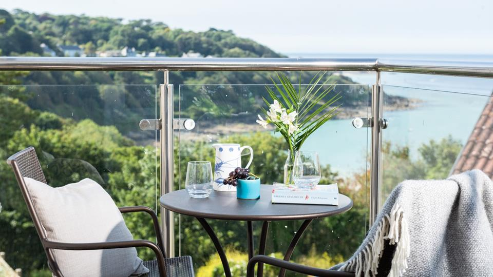 This spot is perfect for grabbing a morning cuppa and taking in the refreshing sea air.