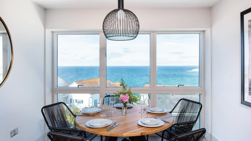 Gaze out across the stunning north coast with a cup of coffee in the morning.