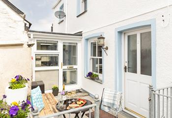 Shilly Billy Cottage in Mevagissey