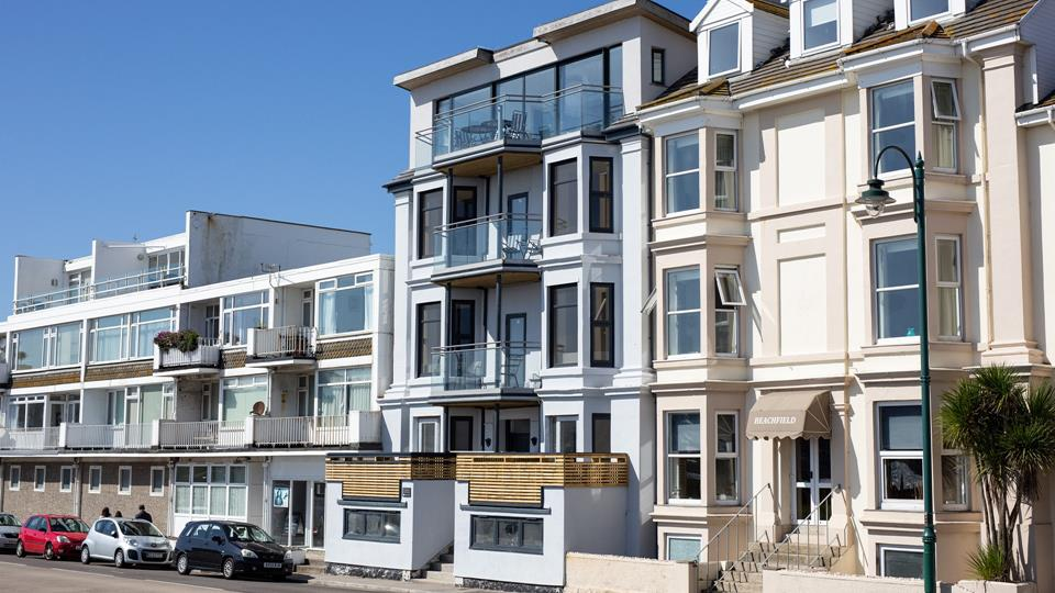 Check out the Aspects website webcams, the Penzance Promenade webcam is attached to The Carlton Penthouse.
