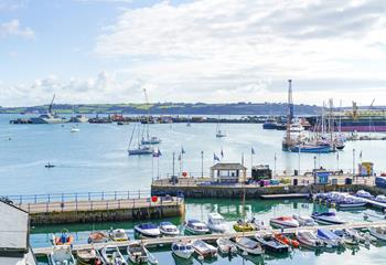 Harbour Strand in Falmouth