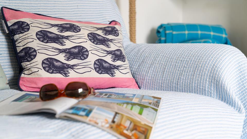Spend an afternoon cosied up on the sofa with nothing on the agenda but reading and relaxation!