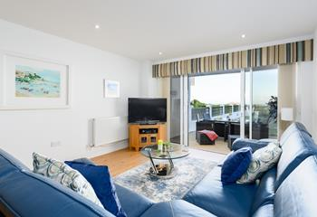 Fistral View, Sleeps 4 + cot, Newquay.