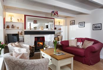 Orchard Place, Sleeps 4 + cot, Newlyn.