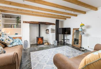 Cobble Cottage, Sleeps 4 + cot, Crackington Haven .