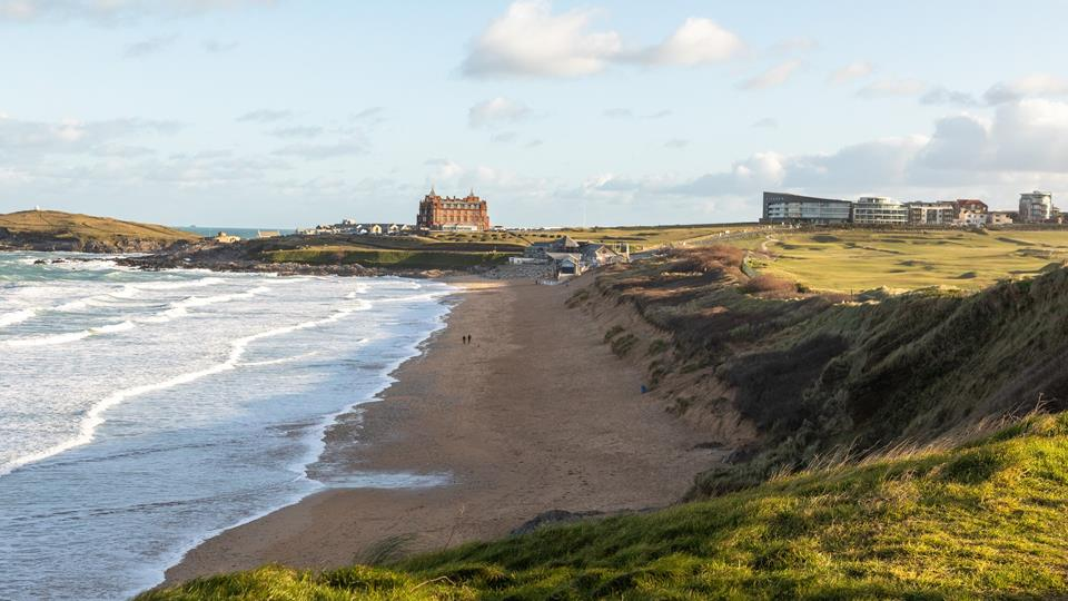 Nearby Fistral beach is world famous for surfing, holding competitions such as the popular Boardmaster's Festival.