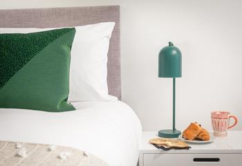 Why not treat yourselff to breakfast in bed, you're on holiday after all!