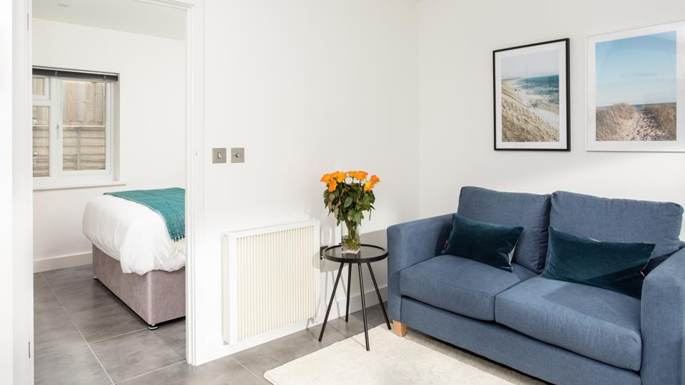 Bold colours and quality furnishings have created a stylish and soothing space to unwind in.