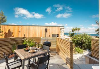 Harbour Garden, Sleeps 4 + cot, St Ives Town.