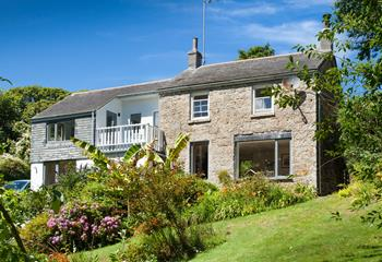 Treverven Cottage in West Cornwall