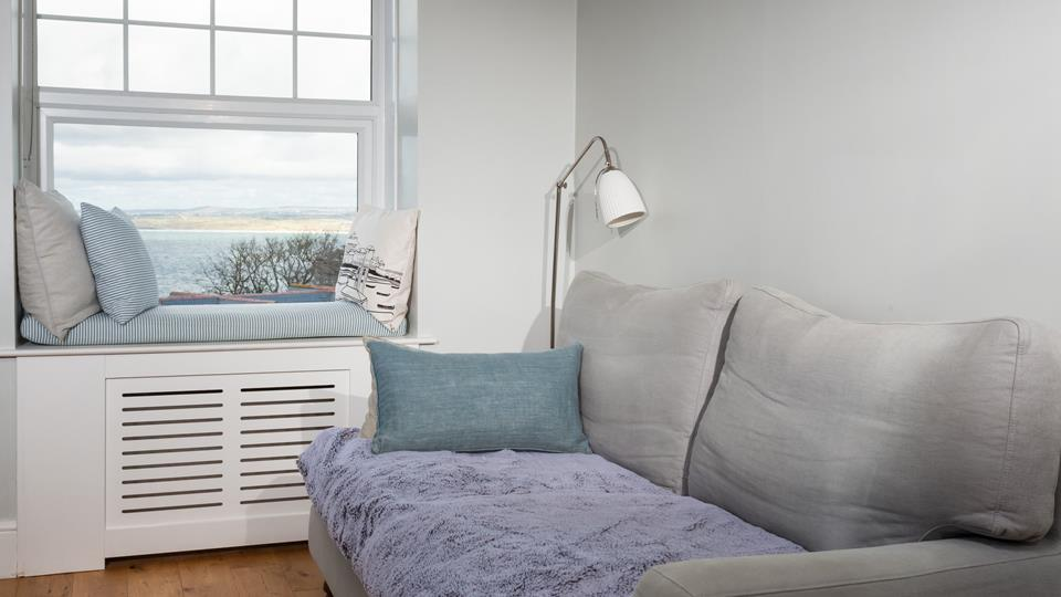 The soft colours have created a beautiful, calming space.
