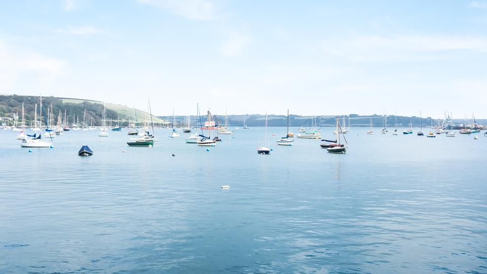 Falmouth's breathtaking harbour can easily be explored by boat.