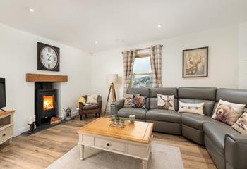 Castle Hill Cottage in Mid Cornwall