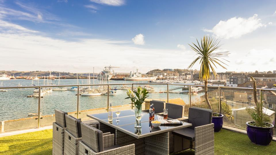 Boasting an elevated position in Falmouth, Thalassa offers views that are hard to beat!