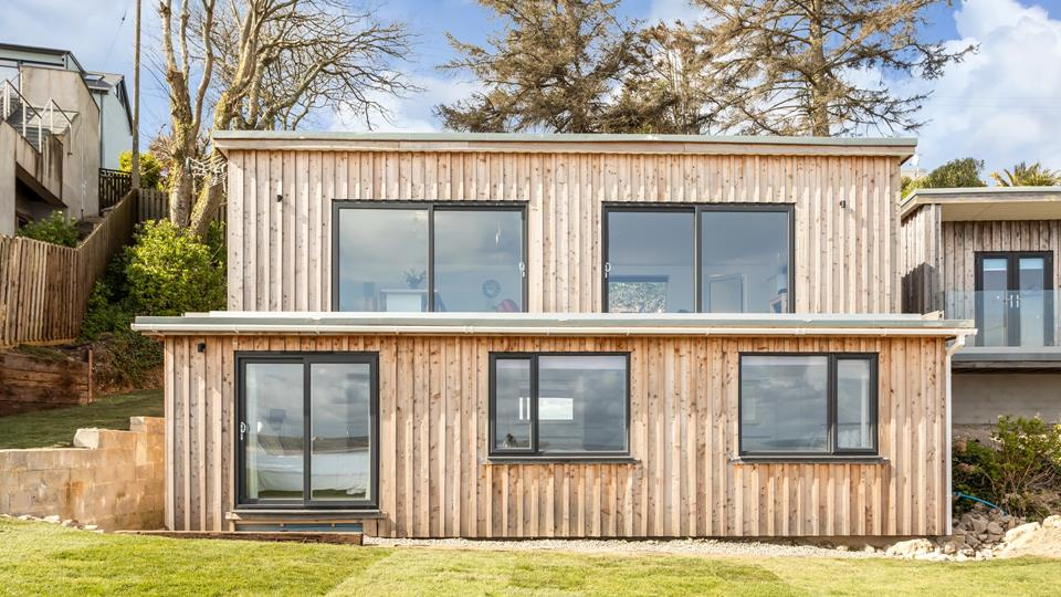 Situated within the grounds of the main house, this timber-clad eco-lodge offers a slice of luxury in a stunning location.
