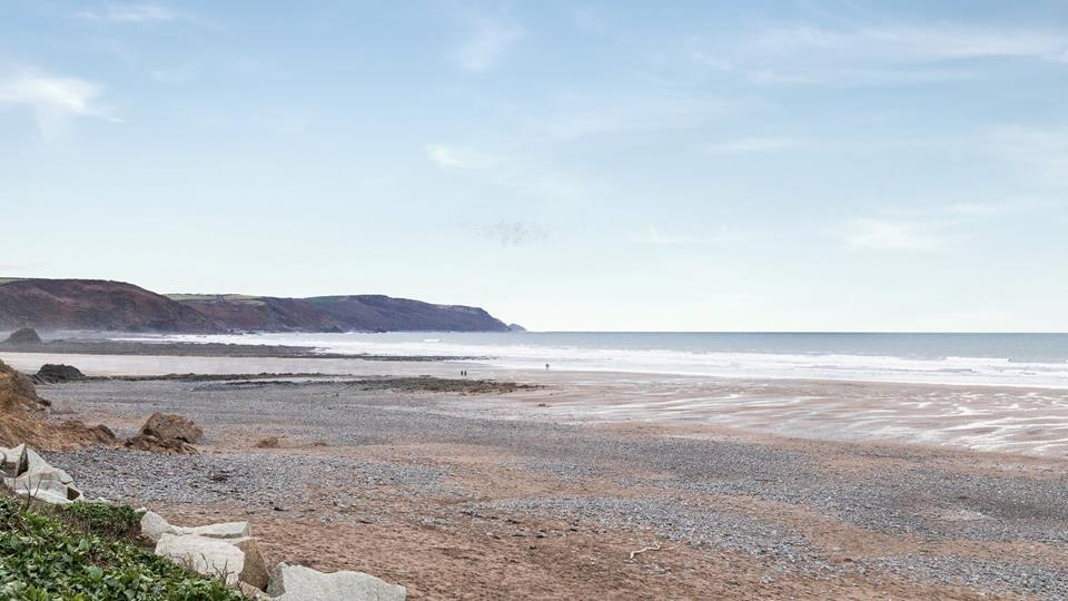 Widemouth Bay beach is just a few minutes walk from St Padarn, perfect for surfing, swimming, rock pooling, sandy walks and the beautiful sunsets in the evening