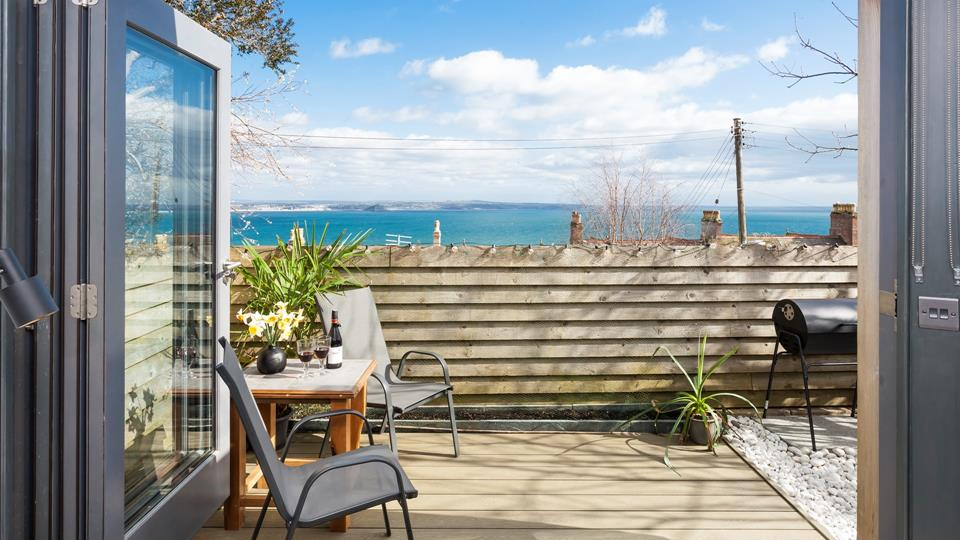 Escape to Little Lyonesse and let those stunning sea views soothe your soul.