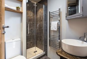 Finished to a high standard, you'll feel like you're at a spa in this beautiful bathroom.