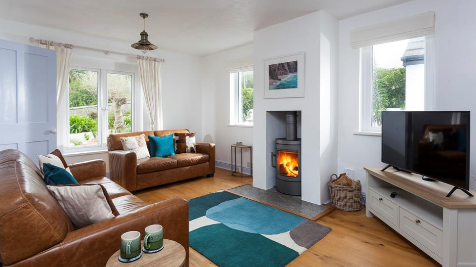 Light the woodburner and snuggle up for a cosy evening in after exploring the local area.